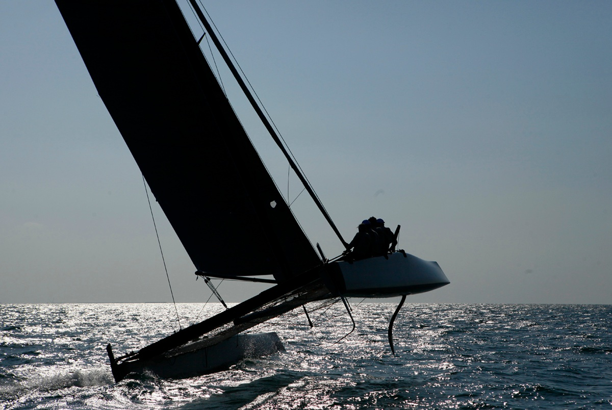 The GC32 is the one design for the future Great Cup Racing circuit starting from 2013 onward. Combining low drag hull, double S curved foils, high righting moment and generous sail area, the GC32 has the capability to reach 30 knots and beyond.