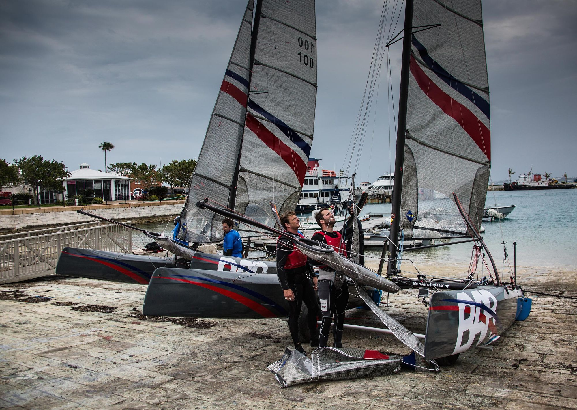 BAR's two multihulls ready to launch/Ben Ainslie Racing