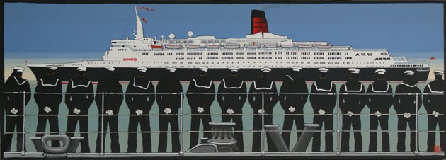 "Farewell QE2, the ""most beautiful cruise ship ever built"""
