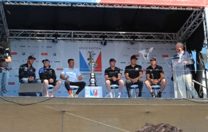 America's Cup World Series skippers