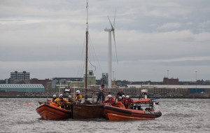 Yacht rescue Southport