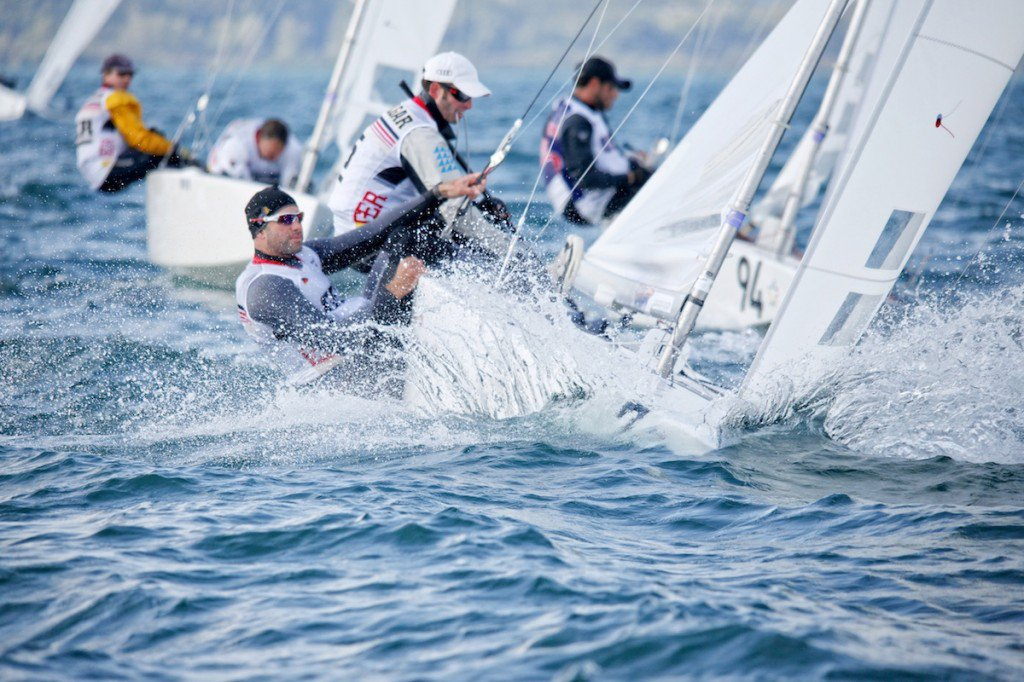 SSL Lake Grand Slam in Grandson ( swissopen.starsailors.com ), on Neuchatel lake in Switzerland. Race Day Two.