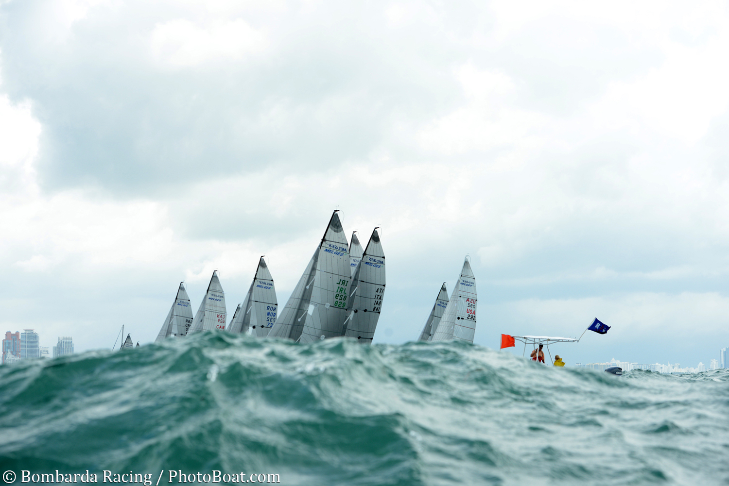 2015 Melges 24 Miami Invitational F 095